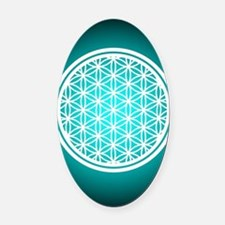 Pants_Flower of Life  Oval Car Magnet