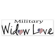 Gold Star Widow Bumper Bumper Sticker