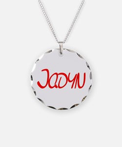 Jadyn Necklace Circle Charm