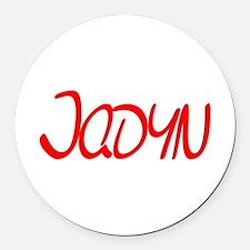 Jadyn Round Car Magnet