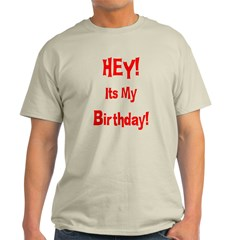 Hey! Birthday! (Red) T-Shirt