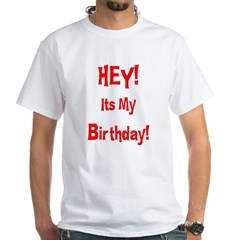 Hey! Birthday! (Red) Shirt