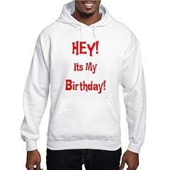 Hey! Birthday! (Red) Hoodie