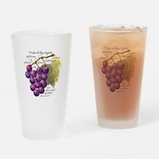 Fruit of the Spirit Design Drinking Glass