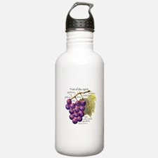Fruit of the Spirit Design Water Bottle