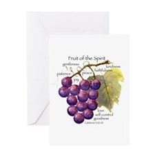 Fruit of the Spirit Design Greeting Cards