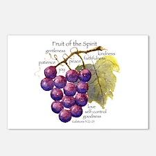 Fruit of the Spirit Design Postcards (Package of 8
