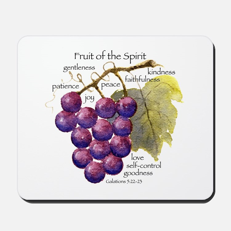 Fruit of the Spirit Design Mousepad