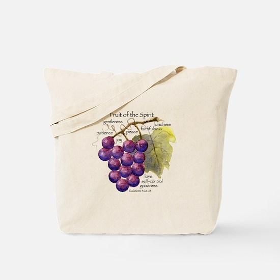 Fruit of the Spirit Design Tote Bag