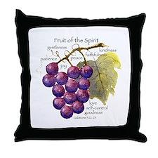Fruit of the Spirit Design Throw Pillow