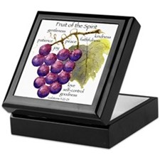 Fruit of the Spirit Design Keepsake Box