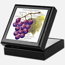 Fruit of the Spirit Design Keepsake Box