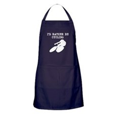 Id Rather Be Cycling Apron (dark)