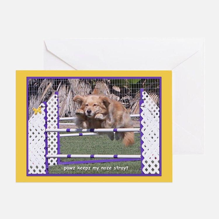 Snap Christmas Golden Retriever Greeting Cards Card Ideas Sayings