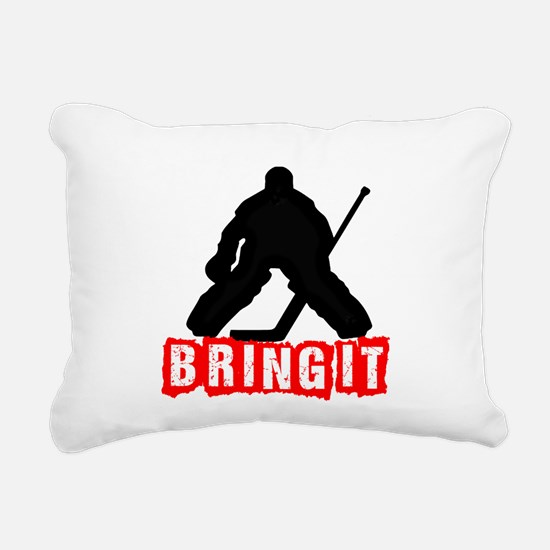 Bring It Rectangular Canvas Pillow