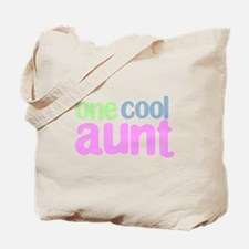 one cool aunt Tote Bag