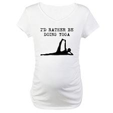 Id Rather Be Doing Yoga Shirt