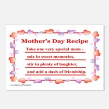 RECIPE Postcards (Package of 8)