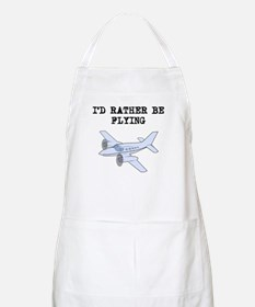Id Rather Be Flying Apron