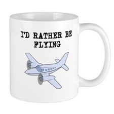 Id Rather Be Flying Mugs