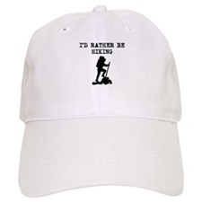 Id Rather Be Hiking Baseball Baseball Baseball Cap