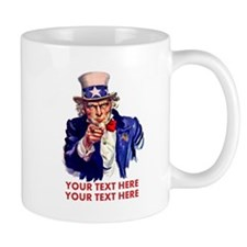 Personalize Uncle Sam Mugs