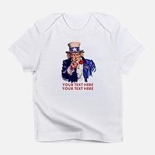 Personalize Uncle Sam Infant T-Shirt