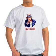 Personalize Uncle Sam T-Shirt