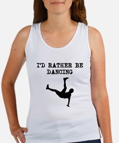 Id Rather Be Dancing Tank Top
