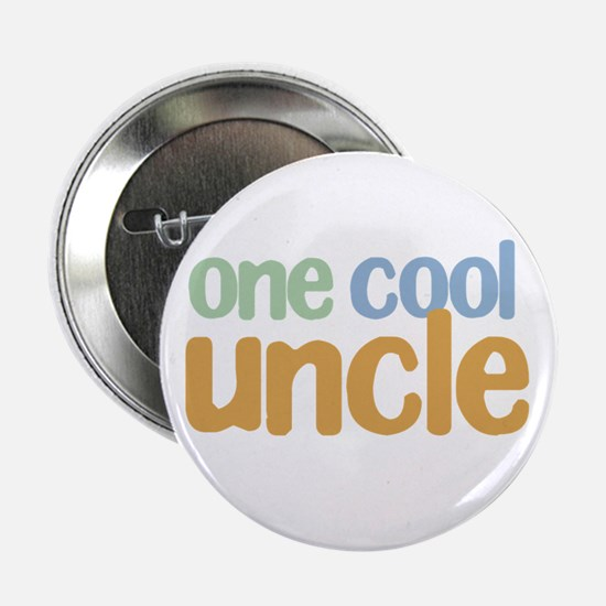 one cool uncle Button