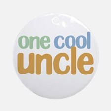 one cool uncle Ornament (Round)