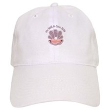 The World Is Your Oyster Baseball Baseball Cap