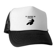 Id Rather Be Cycling Trucker Hat
