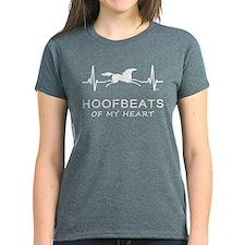 Horse Hoofbeats Heart Tee