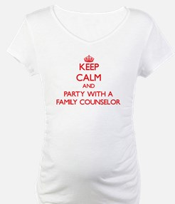 Keep Calm and Party With a Family Counselor Matern