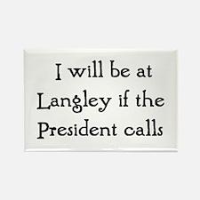 langley Rectangle Magnet
