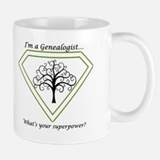 Genealogy is my superpower! Mugs