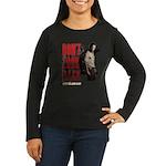 Rick Don't Look B Women's Long Sleeve Dark T-Shirt