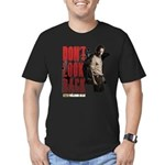 Rick Don't Look Back Men's Fitted T-Shirt (dark)