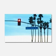 Pacific Coast Highway Sign Cali Car Magnet 20 x 12