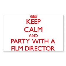 Keep Calm and Party With a Film Director Decal