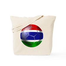 Gambia Football Tote Bag