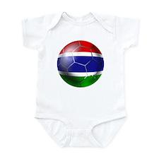 Gambia Football Infant Bodysuit