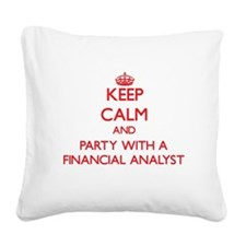 Keep Calm and Party With a Financial Analyst Squar