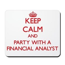 Keep Calm and Party With a Financial Analyst Mouse