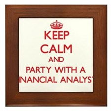 Keep Calm and Party With a Financial Analyst Frame