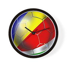 Seychelles Football Wall Clock