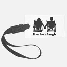 Live Love Laugh Luggage Tag