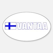 Vantaa, Finland Oval Decal