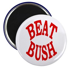 Beat Bush Magnet
